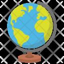 Education Globe Table Icon