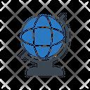 Globe World Map Icon