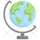 Table Globe Icon