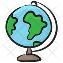 Table Globe Country Map Geography Globe Icon
