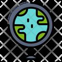 World Earth Soil Icon