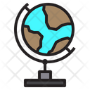 Earth Leaning Education Icon