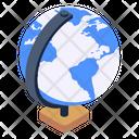 Globe Table Globe World Icon