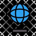 Globe Map Earth Icon