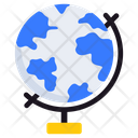 Table Globe Map Sphere Icon