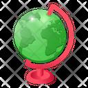 World Globe World Map Table Globe Icon