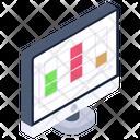 Table Graph Icon