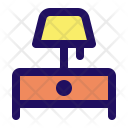 Lamp Table Light Icon