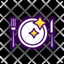Table Setting Restaurant Icon