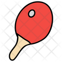 Table Tennis Ping Pong Sports Racket Icon
