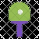Tennis Table Ball Icon
