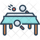 Table Tennis Game Ping Pong Icon