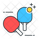 Table Tennis Tennis Paddle Icon