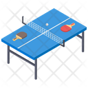 Table Tennis Indoor Game Sports Icon