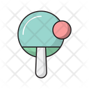 Pingpong Racket Sport Icon