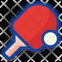 Tennis Table Tennis Racket Icon