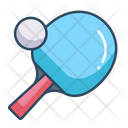Table Tennis Ping Pong Sports Icon