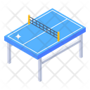 Tennis Table Ping Pong Table Game Table Icon