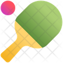 Table Tennis Game Ping Icon