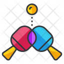 Table Tennis Ping Pong Icon