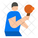 Table Tennis Tt Player Table Icon