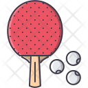 Table Tennis Rackets Icon