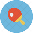 Table Tennis Paddle Icon