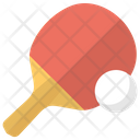 Tennis Equipment Racketball Icon