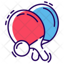 Table Tennis Bat Icon