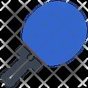 Table Tennis Bat Sports Icon