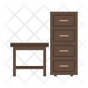Table Shelves Icon