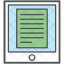 Tablet E Learning Distance Icon