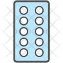 Tablet Strip Blister Icon