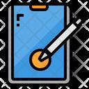 Tablet Graphic Designer Icon