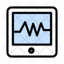 Tablet Device Pulses Icon