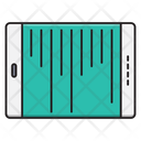 Mobile Tablet Pulses Icon
