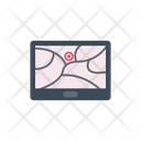 Tablet Map Location Icon