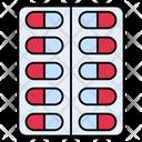 Capsule Medicine Tablet Icon