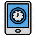 Time Management Tablet Time Icon