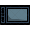 Tablet Pen Drawing Icon