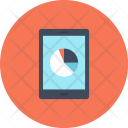 Tablet Chart Piechart Icon