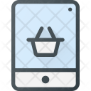 Tablet Shopping Buy Icon