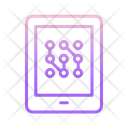Tablet Ai Icon
