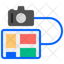 Tablet And Camera Icon