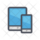 Tablet and Mobile Phone Icon