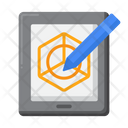 Tablet Drawing Icon
