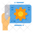 Tablet Setting Icon