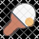 Tabletennis Pingpong Game Icon