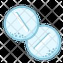 Icon Circle Tablets Medicne Health Icon