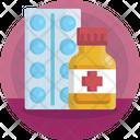 Pharmacy Tablets Medicine Icon